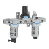 FRLM176434,Janatics,Modular,FRLM-3/4 (40Micron,10bar),Filter Regulator Lubricator Modular,Polycarbonate,Manual Drain,0.5 - 10 bar