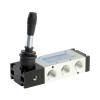 DS247HR63,Janatics,Manual and Mechanical Valve,1/2 -3/2 NC Hand lever sp. return valve,Spool,3/2 Normally closed, 1/2