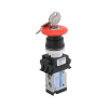 DP242P70-ML1A , Janatics , M5,3/2 NC valve (DP) with Actuator(Mushroom head w , Poppet , 3/2 Normally closed , Mush room Head with lock , Mush room Head detent , M5