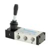 DS257HR63,Janatics,Manual and Mechanical Valve,1/2 -5/2 Hand lever sp. return valve,Spool,5 Port 2 Position, 1/2