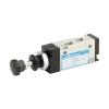 DS254PR60,Janatics,Manual and Mechanical Valve,1/8 -5/2 Push Pull sp. return valve,Spool,5 Port 2 Position, 1/8