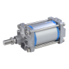 A16125200O,Janatics,Tie Rod Cylinders,DA 125 x 200 Cyl. Basic,Double acting,Non Magnetic,Adjustable Cushioning