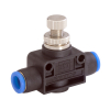 Janatics,GR0110606,Flow control valve (Straight) Dia 6