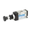 DS245PR61,Janatics,Manual and Mechanical Valve,1/4 -3/2 NC Push Pull sp. return valve,Spool,3/2 Normally closed, 1/4