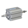 A61050020O,Janatics,Compact Cylinders,DA 50 x 20 Compact(ISO) Cyl.(DE) Basic,Double end Double acting,Elastomer  end Cushioning,Non Magnetic,Female Thread