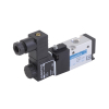DS244SR60-AT1R0,Janatics,Solenoid Valve,1/8 -3/2 NC,220V AC (S) Sol. sp. return valve with LED socket,Spool,3/2 Normally closed