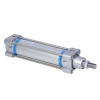 A28100080O,Janatics,Tie Rod Cylinders,DA 100 x 80 Cyl. Basic,Double acting,Non Magnetic,Adjustable Cushioning