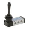 DS254HR60,Janatics,Manual and Mechanical Valve,1/8 -5/2 Hand lever sp. return valve,Spool,5 Port 2 Position, 1/8