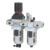 FRCLM176424,Janatics,Modular,FRCLM-3/4 (25Micron,10bar),Filter Regulator Combination Lubricator Modular,Polycarbonate,Manual Drain,0.5 - 10 bar