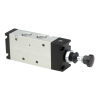 DS247PR63,Janatics,Manual and Mechanical Valve,1/2 -3/2 NC Push Pull sp. return valve,Spool,3/2 Normally closed, 1/2