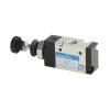 DS255PR61,Janatics,Manual and Mechanical Valve,1/4 -5/2 Push Pull sp. return valve,Spool,5 Port 2 Position, 1/4