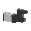 DS235SR61-WT1R0,Janatics,Solenoid Valve,1/4 -3/2 NO,24V DC (S) Sol. sp. return valve with LED socket,Spool,3/2 Normally open