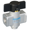 GS245H61,Janatics,SHUT OFF VALVE-3/2 NC,G1/4,Shut Off Valve,3/2 Normally Closed,BSP,1/4