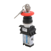 DS244P60-SH3A , Janatics , 1/8 -3/2 NC valve with switch (Symmetric head-Black) , Spool , 3/2 Normally closed , Symmetric Head (Black) , Symmetric Head detent , 1/8