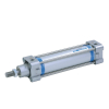 A28100025O,Janatics,Tie Rod Cylinders,DA 100 x 25 Cyl. Basic,Double acting,Non Magnetic,Adjustable Cushioning