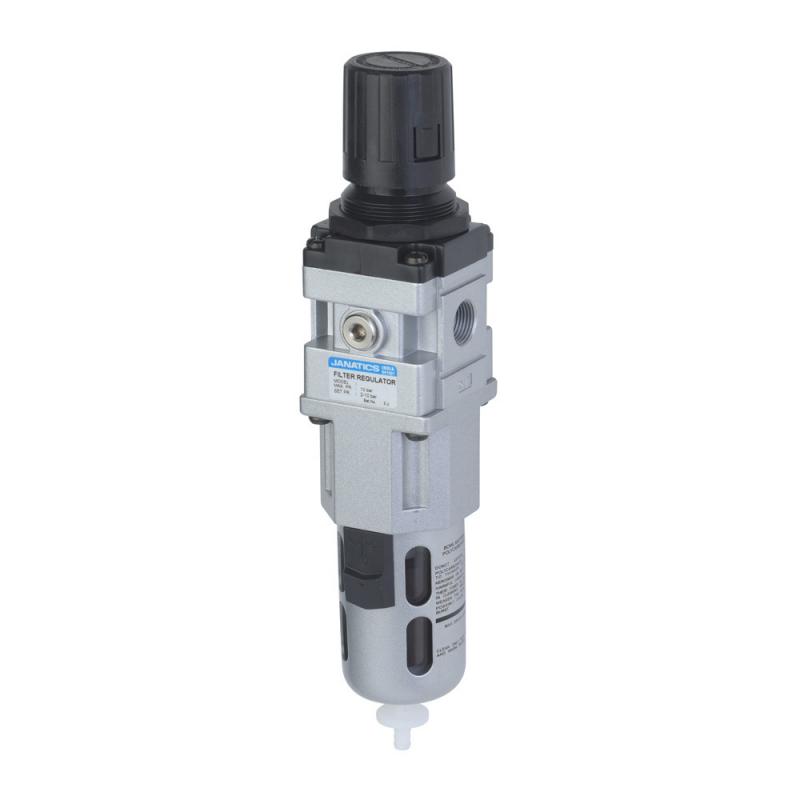 FRC146223-A,Janatics,Filter Regulator combination,FRC-3/8 (25Micron,7bar)with Internal Auto drain,BSP