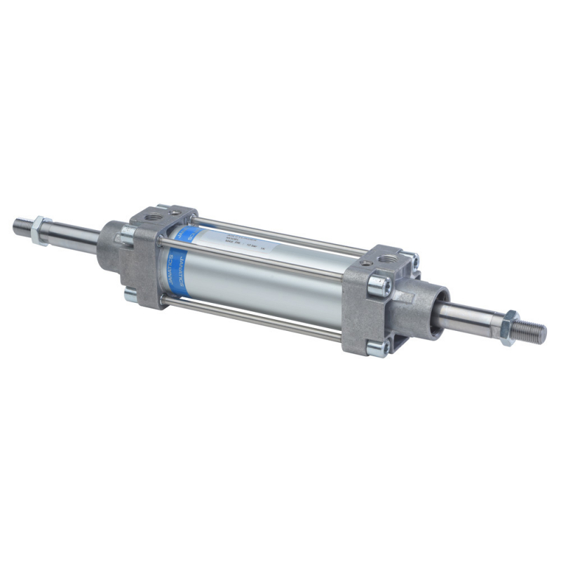 A11100125O,Janatics,Tie Rod Cylinders,DA100 x 125 Cyl.(DE) Basic,Double end Double acting,Non Magnetic,Adjustable Cushioning