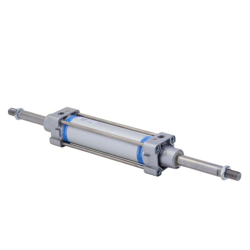A26100080O,Janatics,Tie Rod Cylinders,DA 100 x 80 Cyl. (DE) Basic,Double end Double acting,Non Magnetic,Adjustable Cushioning