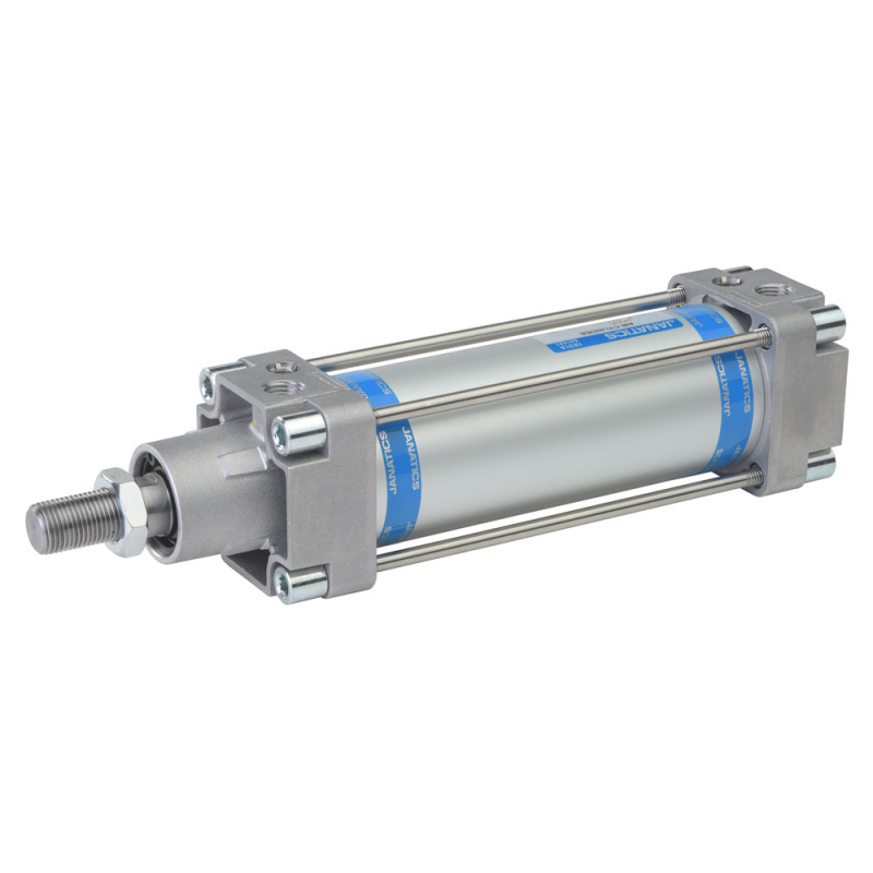 A12040100O-S,Janatics,Tie Rod Cylinders,DA 40 x 100 Cyl. Basic,Double acting,Non Magnetic,Adjustable Cushioning