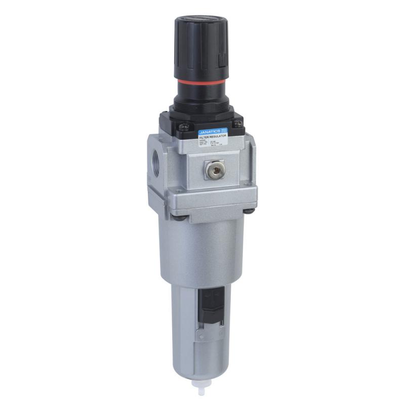 FRC176514-MA,Janatics,Filter Regulator Combination,FRC-1 (5Micron,10 bar) Metal bowl,Auto drain