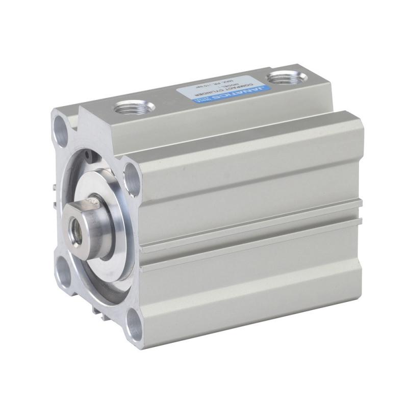 A03063080O,Janatics,Compact Cylinders,DA 63 x 80 Compact Cyl.(Mag) Basic,Double acting,Elastomer  end Cushioning,Magnetic,Female Thread