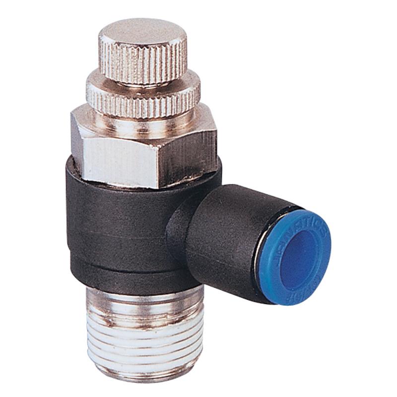 Janatics,GR5105006,Flow control valve 1/8 x Dia 6