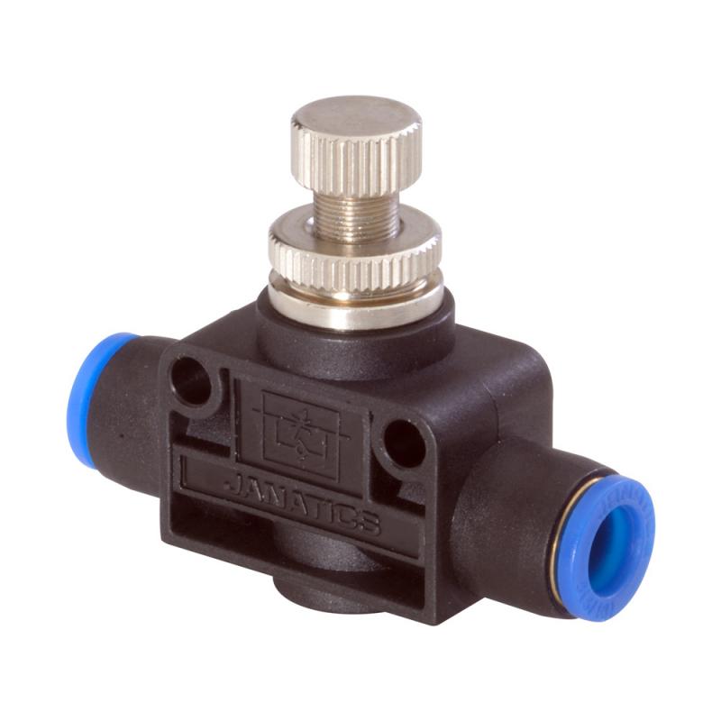 Janatics,GR0110404,Flow control valve (Straight) Dia 4
