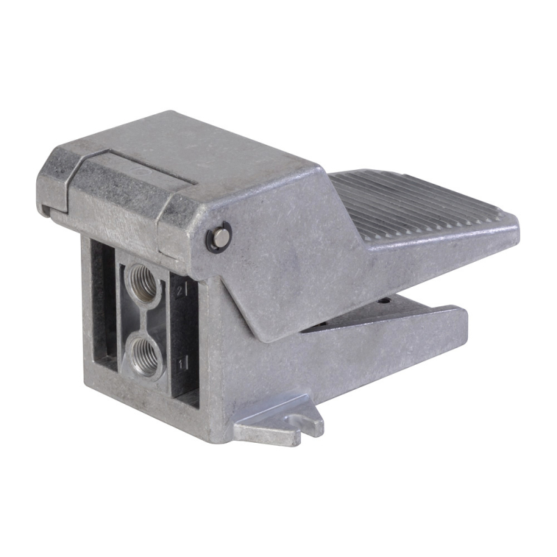 DP045F61,Janatics,Manual and Mechanical Valve,3/2NC FOOT OPERATED VALVE G1/4,Poppet,3/2 Normally closed,1/4