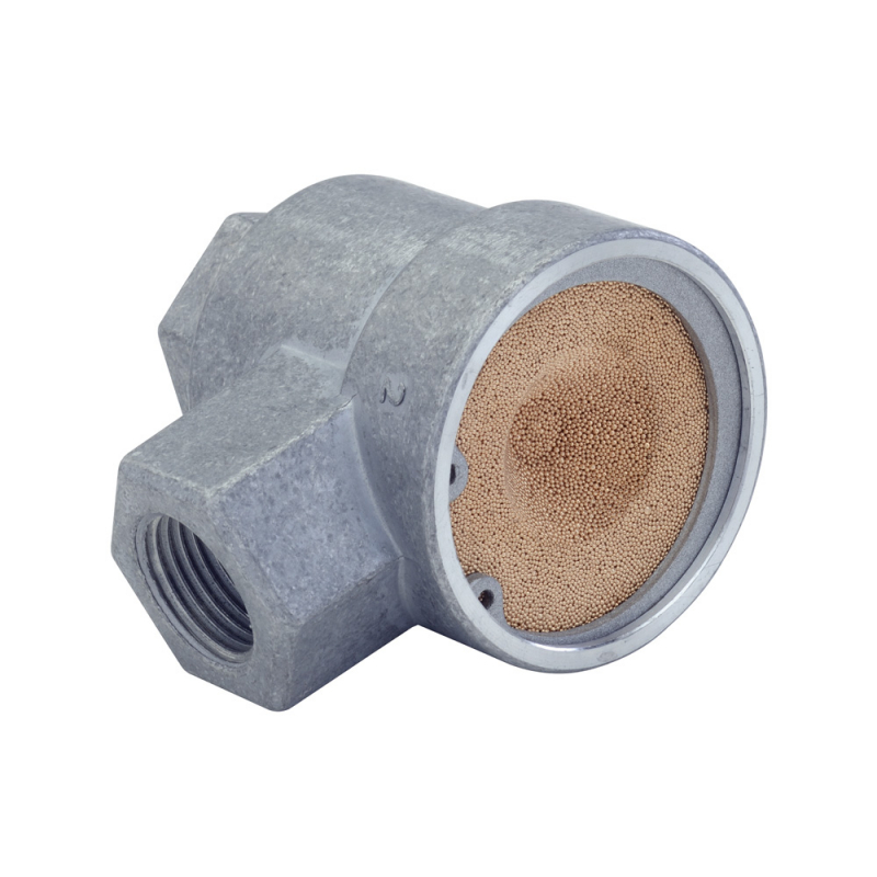 Janatics,GQ0170,Quick Exhaust valve - M5 (Silencer type)