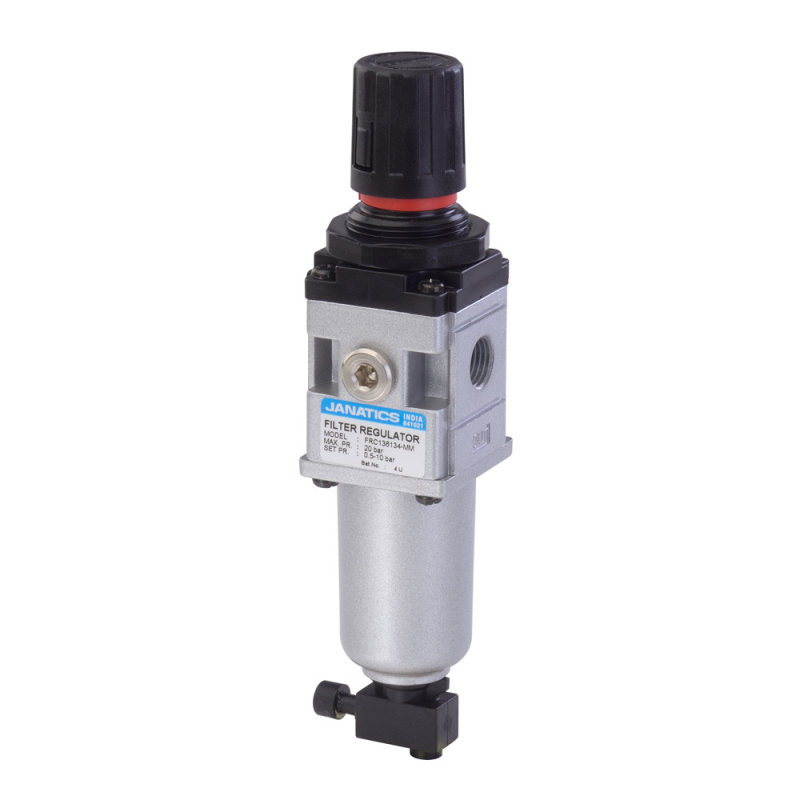 FRC136134,Janatics,Filter Regulator combination,FRC-1/4 (40Micron,10bar),BSP