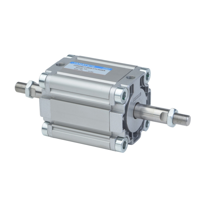 A61032025O,Janatics,Compact Cylinders,DA 32 x 25 Compact(ISO) Cyl.(DE) Basic,Double end Double acting,Elastomer  end Cushioning,Non Magnetic,Female Thread