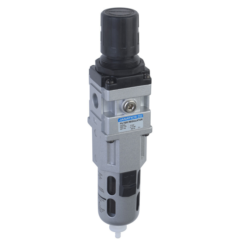 FRC176414-A,Janatics,Filter Regulator combination,FRC-3/4 (5Micron,10 bar) with Internal Auto drain,BSP