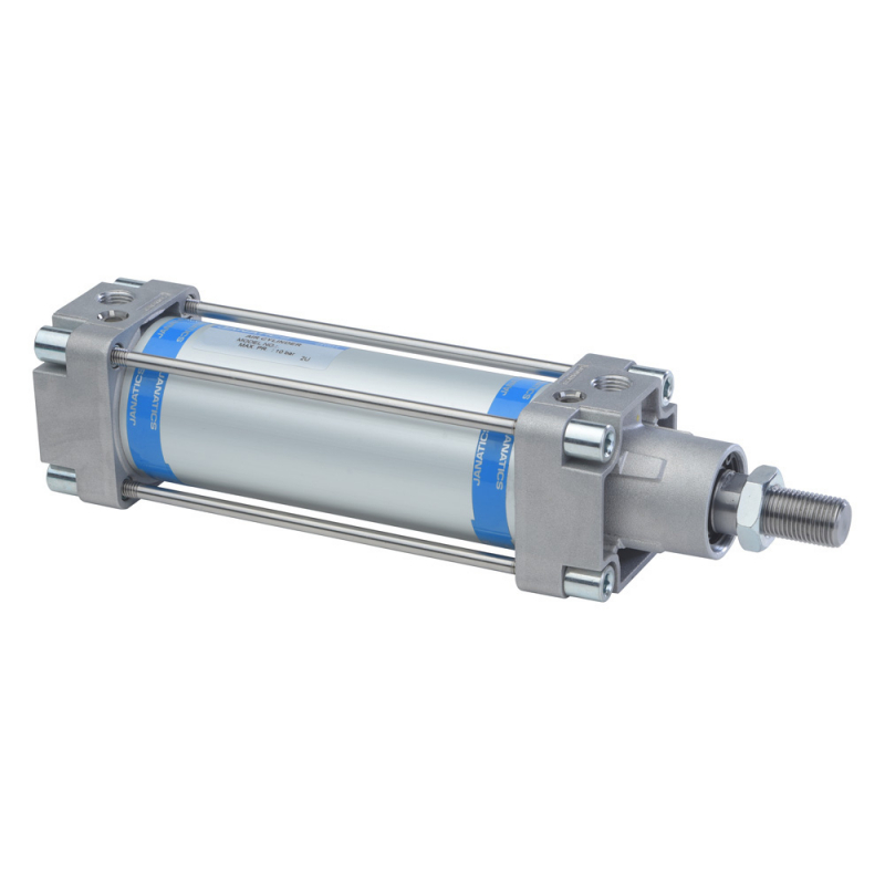 A12040200O-S,Janatics,Tie Rod Cylinders,DA 40 x 200 Cyl. Basic,Double acting,Non Magnetic,Adjustable Cushioning