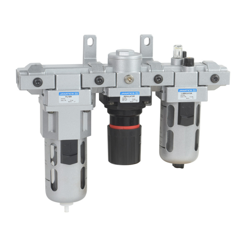 FRLM176514-A,Janatics,Modular,FRLM-1 (5micron,10bar) with internal auto drain,Filter Regulator Lubricator Modular,Polycarbonate,Auto Drain,0.5 - 10 bar